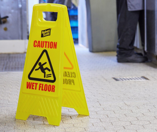 Picture of A-Frame Safety Sign Yellow