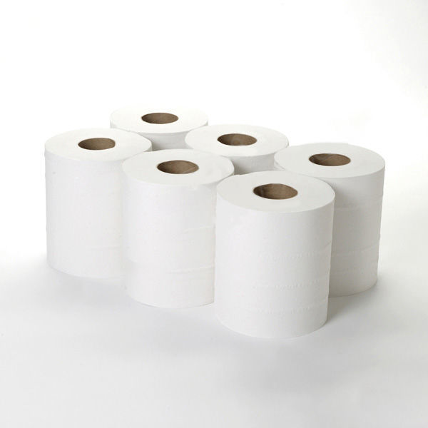 Picture of Centrefeed Rolls Std (1ply, 300m x 23cm, Pack of 6)