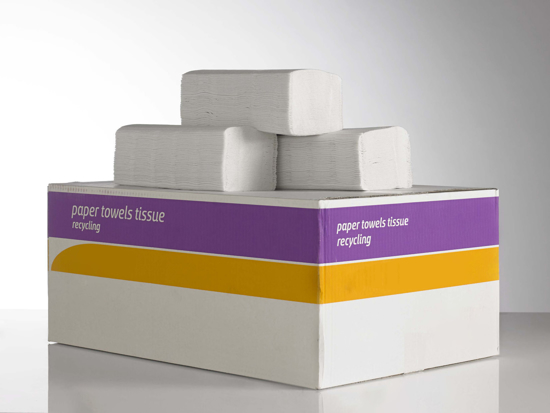 Picture of White C-fold Towel 1ply 23 x 31 cm (Pack of 2760)