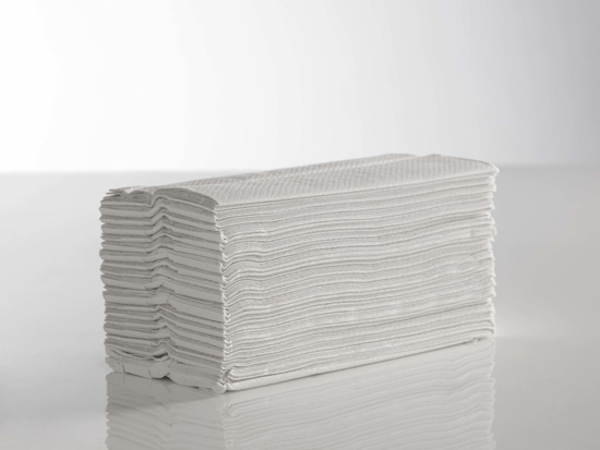 Picture of White C-Fold Towel GOLD 2ply (Pack of 2400)