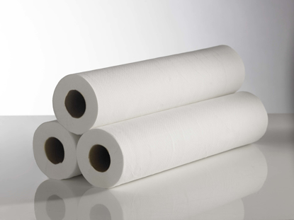 """Picture of White Couch Roll (2ply,  12"""", Pack of 12)"""