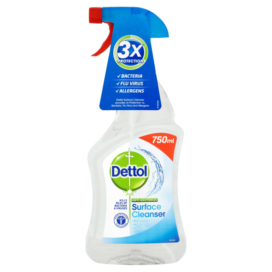 Picture of DETTOL Anti-Bac Cleaner 750ml (Pack of 4)