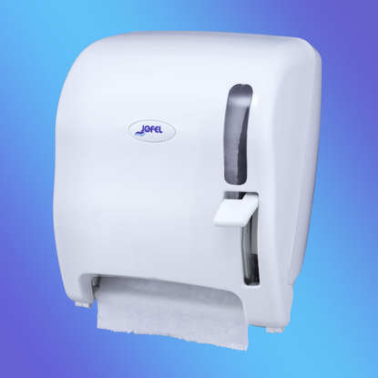 Picture of White JOFEL Continuous Roll Paper Towel Dispenser