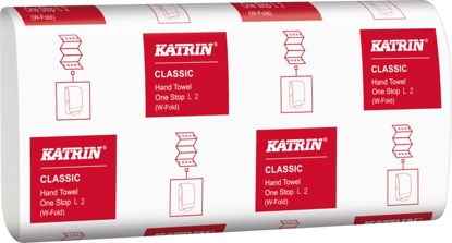 Picture of White KATRIN One Stop (2ply, Pack of 2310)