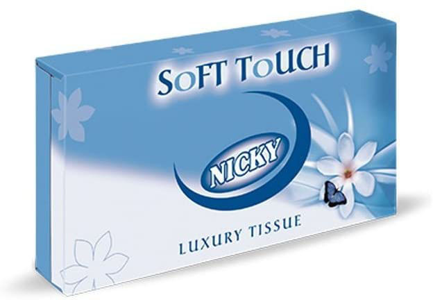 Picture of White Man-size Tissues Soft (2Ply, Pack of 12)