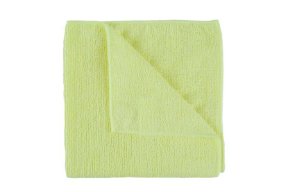 Picture of Yellow Microfibre Cloth (Pack of 10)
