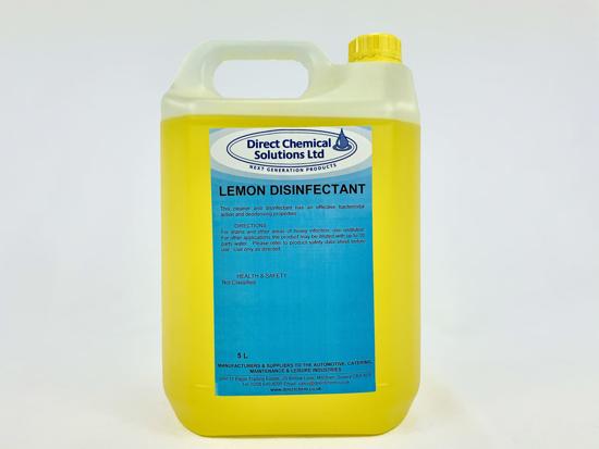Picture of QAC Lemon Disinfectant 5 Litre