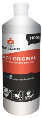Picture of SELDEN Act Stainless Steel Toilet Cleaner 1Litre (Pack of 12)