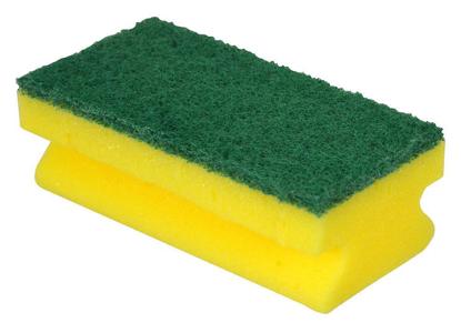 Picture of Sponge Scourer Green (Pack of 10)