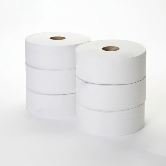 Picture of White Standard Jumbo (2ply, 400m, 57mm, Pack of 6)