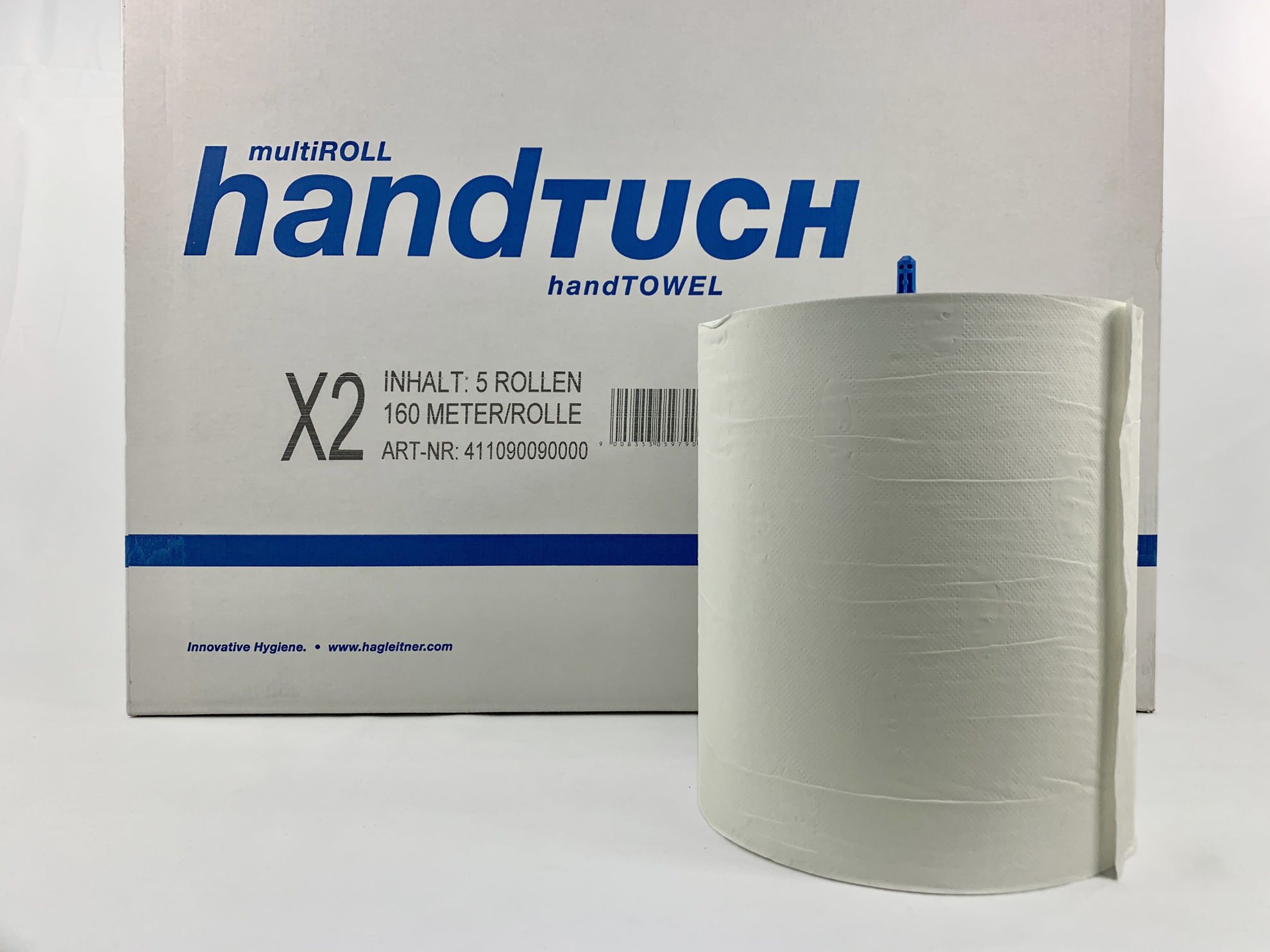 Picture of Xibu Paper Towel Roll X2 (160m, 2ply, Pack of 5)
