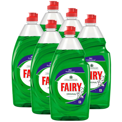 Picture of FAIRY Washing Up Liquid 900ml (Pack of 6)