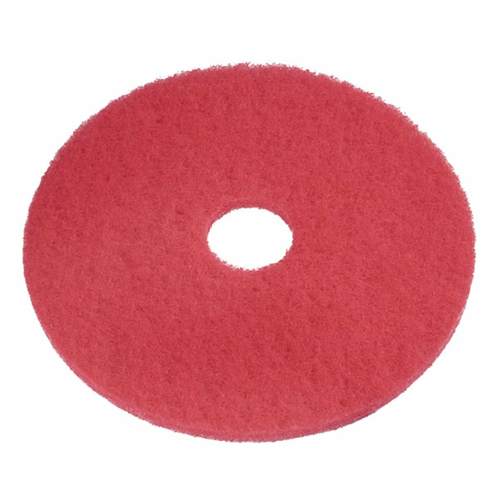 Picture of Floorpads 17 Red spray clean/buff