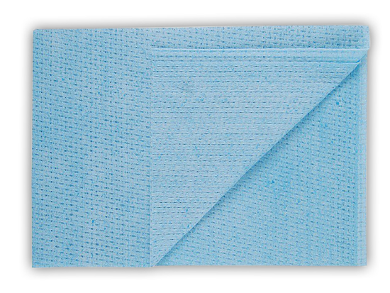 Picture of Blue Velette Non-woven Cloths (50 x 35cm Pack of 6 x 25)