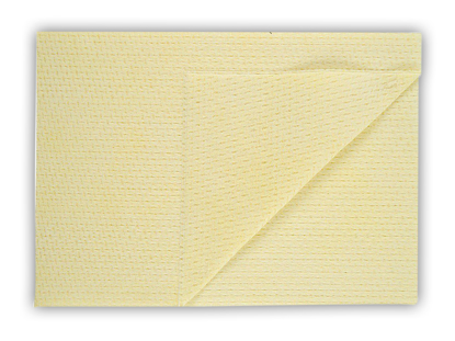 Picture of Yellow Velette Non-woven Cloths (50 x 35cm Pack of 6 x 25)