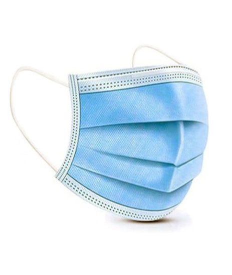 Picture of Disposable Face Mask 3 layers (Pack of 50)