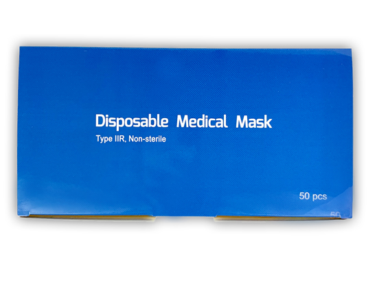 Picture of Disposable Medical Mask Type IIR
