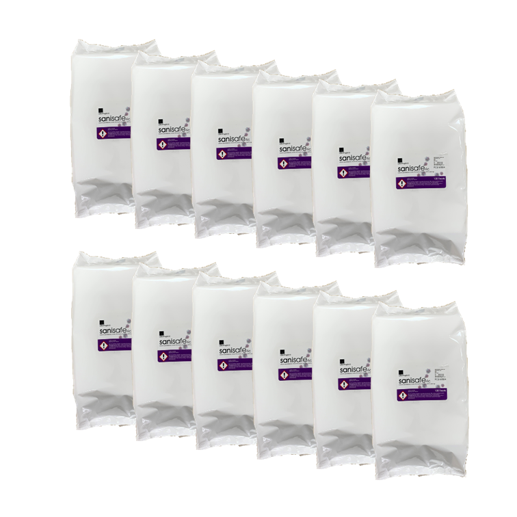 Picture of Anti-Corona Surface Wipes (12 Packs of 100, Size L)