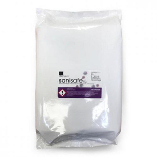 Picture of Antibacterial/ Medical Wipes (6 Packs of 100 Wipes Each, Size L)