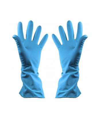 Picture of Blue Household Gloves Medium (1 Pair)