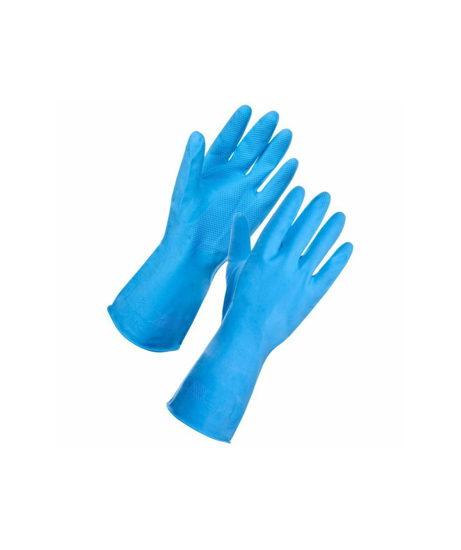 Picture of Blue Household Gloves Small (1 Pair)