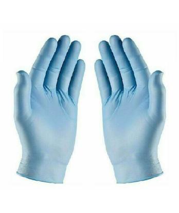 Picture of Blue Nitrile Powder Free Multi-Purpose Gloves Small (10 Box of 100 pcs)