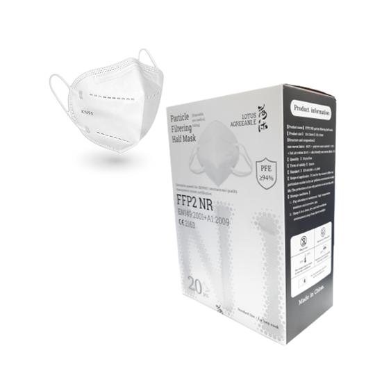 Picture of FFP2 Masks, Disposable FFP2 / KN95 Face Mask,  EN149: 2001 + A1: 2009 (20Pcs)