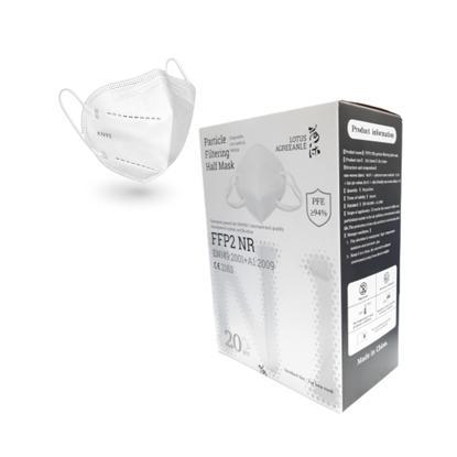 Picture of FFP2 Masks, Disposable FFP2 / KN95 Face Mask,  EN149: 2001 + A1: 2009 (Pack of 20 Masks)